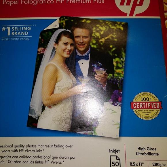 Accessories - HP premium photo paper